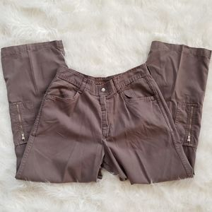 AGOLDE 'Esther' Wide Leg Cargo High Waist Pants 27